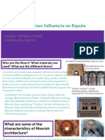 la influencia de los moros en espana