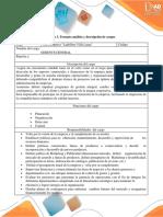 Anexo 3. Formato Análisis y Descripción de Cargos