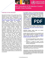Checklist for Periodic Evaluation of Tb Infection Control in Health Facilities