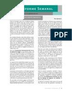 Informe Semanal #37 Del Vocero de La SHCP, No Disminucion de Impuestos