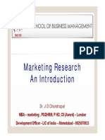 00 Marketing Research Introduction