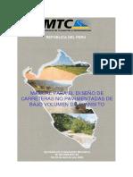 Manual Diseño de Carreteras No Pavimentadas
