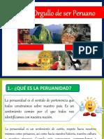 Tengo El Orgullo de Ser Peruano