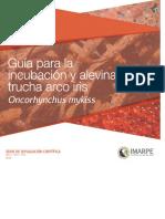 Guia Para La Incubacion y Alevinaje de Trucha Arco Iris Imarpe