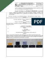 Reacciones químicas detectables por un cambio de color