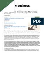 Best Business Books 2009_ Marketing