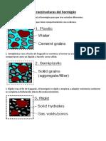 Microestructuras Del Hormigón
