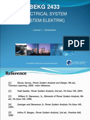 L1 Bekg2433 Power System Energy Development Watt