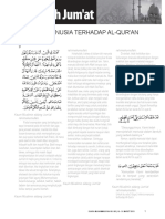3 Sikap Manusia Terhadap Al-Qur'An