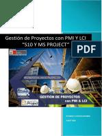 """Gestión de Proyectos Con Pmi y Lci """"s10 y Ms Project"""""""