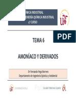 Tema 6. Amoníaco