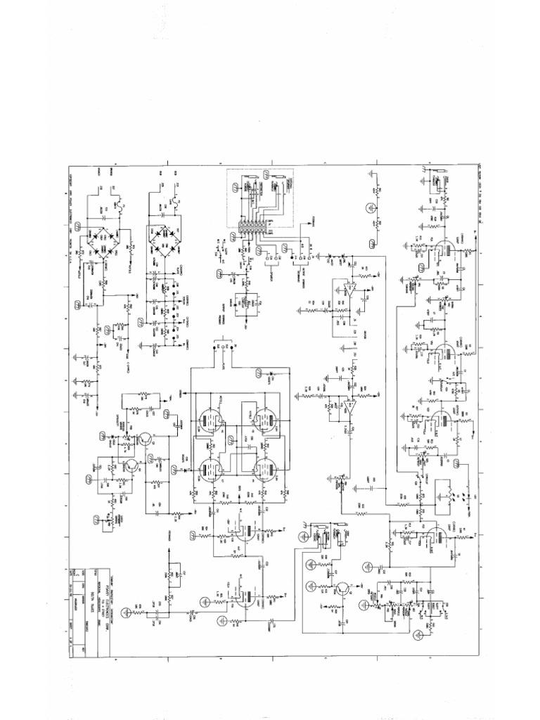 Peavey Deltablues Schematic