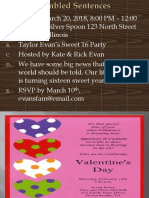 Invitation Powerpoint