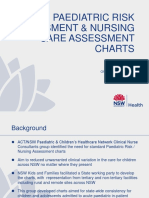Paediatric Risk Assessment and Nursing Assessment Charts Presentation Dec 2015 NSW Health Template