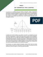 Distribuciones Fundamentales Para El Muestreo.