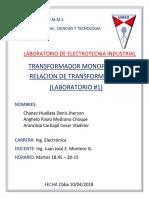 Lab Electrotecnia Informe 1