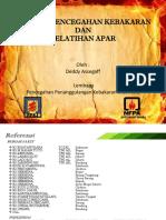 Edukasi Pencegahan Kebakaran Dan Pelatihan Apar