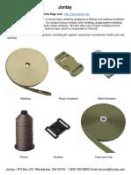 Jontay - Plastic Hardware