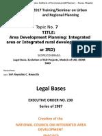 PIEP EnP Review- Integrated Area Development