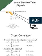 Correlation of Discrete-Time Signals