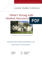 Uncertainty, Risk-Taking and the Business Cycle