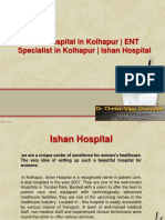 ENT Hospital in Kolhapur | ENT Specialist in Kolhapur | Ishan Hospital