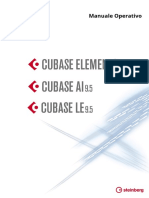 Cubase Elements LE AI 9 5 Manuale Operativo It