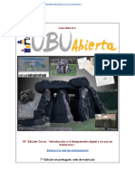 Guía Didáctica #Curso Online Introducción a La #Fotogrametría Digital y Patrimonio 10ª Ed. #UBU