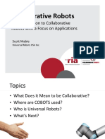 13-CollaborativeRobotTechnologyandCustomerApplicationsUniversal-ScottMabie