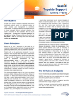 Seadrill Annual Summary Topside Support Newsletter 2015
