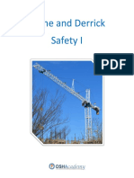 820studyguide Crane and Derrick Safety 1