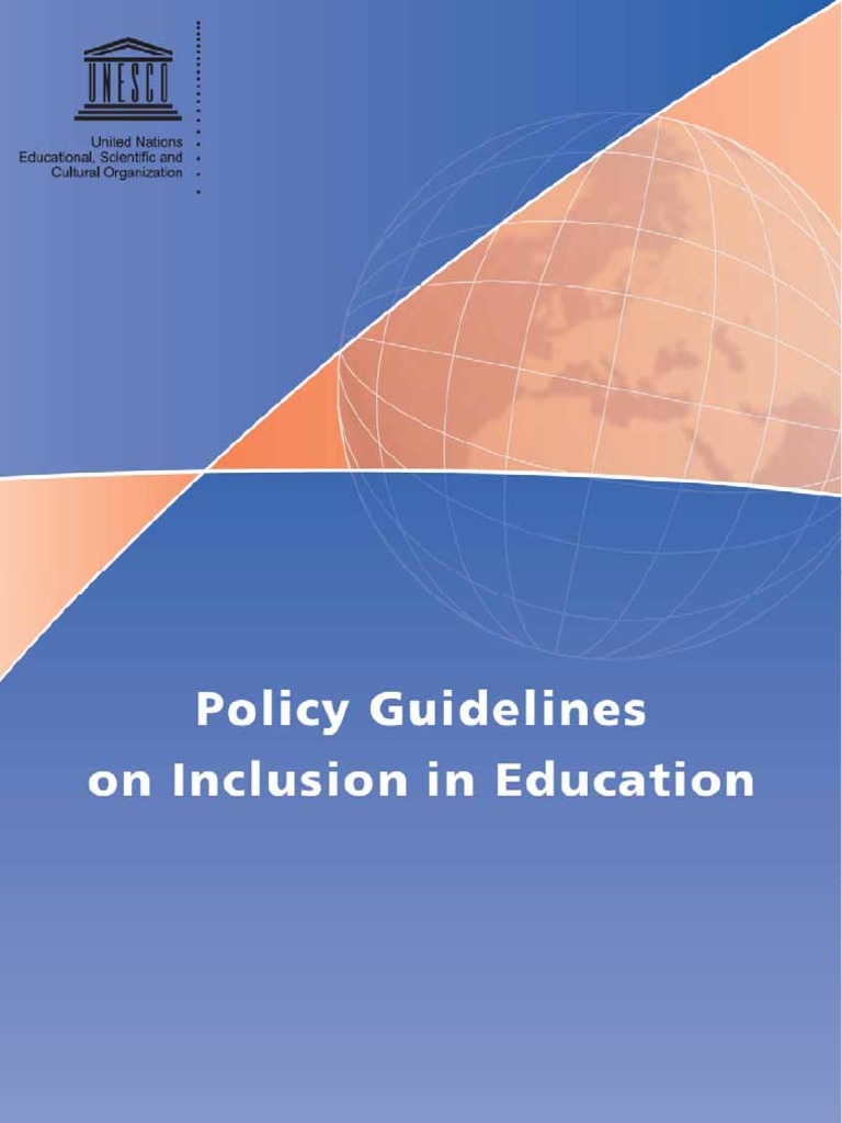 inclusion in education Inclusive education means different and diverse students learning side by side in   in a diverse school system, inclusion means thinking about multiple ways to.