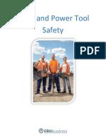 OSHAstudyguide Hand & Power Tool Safety