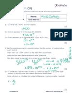 Number H Standard Form v2 SOLUTIONS V2