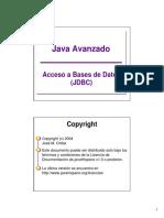 Java Acceso Bases de Datos