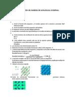reporte construcción de modelos de estructuras cristalinas