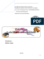 Policopi Lubrification