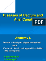Diseases of Rectum and Anal Canal