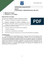 Planificación 4º Matermática ES 2017 (Santa Rosa de Lima) Prof. Eduardo J. Álvarez