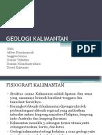 Geologi Kalimantan