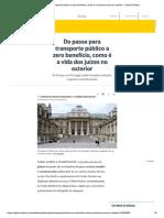 Do passe para transporte público a zero...os juízes no exterior - Jornal O Globo.pdf