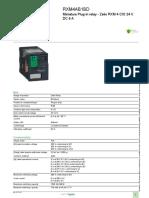 Zelio Electromechanical Relays RXM4AB1BD