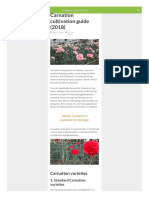 Carnation cultivation pdf
