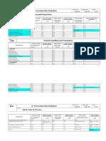 Form D - Process Step Evaluation