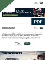 Jaguar Land Rover CCE Presentation