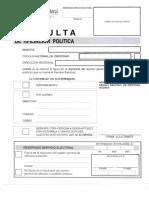 Formato de Consulta Afiliacion a Partidos Politicos