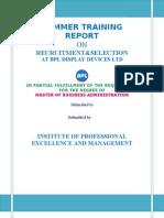 BPL-_RECRUITMENT_&_SELECTIONVisit Us @ Management.umakant.info