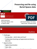 Julian Richards - Preserving and Re-using Burial Spaces data, University of York