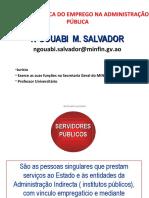 Relação Jurídica do Emprego na Administração Pública