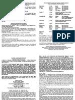 notice sheet 15th april 2018